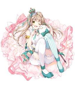 Rating: Safe Score: 42 Tags: bloomers heels love_live! minami_kotori miwabe_sakura thighhighs User: hiroimo2