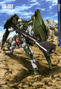 Rating: Safe Score: 18 Tags: arisawa_hiroshi gun gundam gundam_00 gundam_dynames mecha User: Aurelia