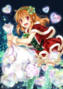 Rating: Safe Score: 32 Tags: bloomers christmas kanon sato-pon thighhighs tsukimiya_ayu User: Mr_GT