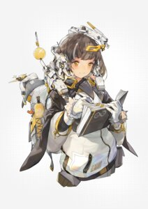 Rating: Safe Score: 4 Tags: arknights headphones magallan_(arknights) penguin wulifeng User: Dreista