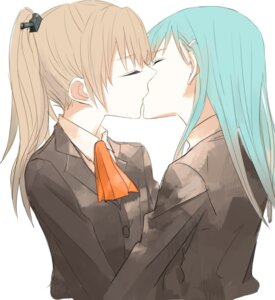 Rating: Safe Score: 32 Tags: gogono_pan'ya kantai_collection kumano_(kancolle) suzuya_(kancolle) yuri User: Radioactive