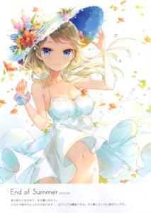 Rating: Questionable Score: 34 Tags: cleavage dress fuumi nopan radial_engine see_through summer_dress User: kiyoe