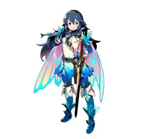 Rating: Questionable Score: 7 Tags: fire_emblem fire_emblem_heroes fire_emblem_kakusei heels lucina_(fire_emblem) nintendo pantyhose sword tagme thighhighs wings User: fly24