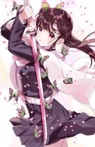 Rating: Safe Score: 37 Tags: japanese_clothes kimetsu_no_yaiba sinsihukunokonaka skirt_lift sword tagme tsuyuri_kanao uniform User: Dreista