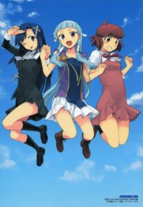 Rating: Safe Score: 17 Tags: aoba_tsugumi kannagi_crazy_shrine_maidens nagi seifuku takenashi_eri zange User: Radioactive