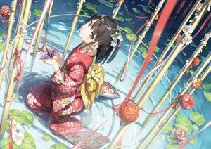 Rating: Safe Score: 51 Tags: kantoku kimono shizuku_(kantoku) wet User: BattlequeenYume