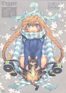 Rating: Safe Score: 18 Tags: kawaku neko thighhighs User: Radioactive