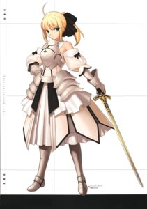 Rating: Safe Score: 35 Tags: armor fate/stay_night saber saber_lily sword takeuchi_takashi type-moon User: Radioactive