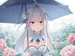 Rating: Safe Score: 39 Tags: cleavage emilia_(re_zero) hidaka_kouyou pointy_ears re_zero_kara_hajimeru_isekai_seikatsu umbrella User: Mr_GT