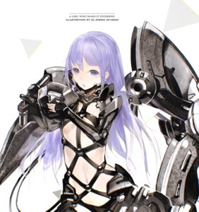 Rating: Safe Score: 48 Tags: bodysuit el-zheng kaku-san-sei_million_arthur mecha_musume User: blooregardo
