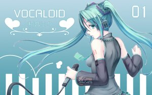 Rating: Safe Score: 17 Tags: e-suke hatsune_miku headphones tattoo vocaloid wallpaper User: charunetra