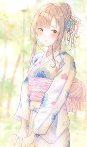 Rating: Safe Score: 13 Tags: mizumoto_yukari the_idolm@ster the_idolm@ster_cinderella_girls toufuu yukata User: yanis