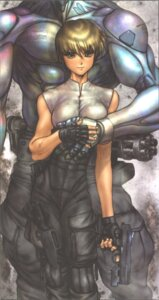 Rating: Safe Score: 9 Tags: appleseed briareos_hecatonchires deunan_knute shirow_masamune User: zhukovsan