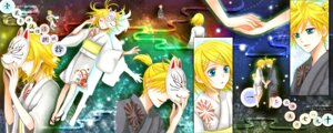 Rating: Safe Score: 4 Tags: kagamine_len kagamine_rin vocaloid wool User: charunetra