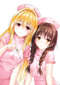 Rating: Safe Score: 48 Tags: golden_darkness nurse to_love_ru to_love_ru_darkness yabuki_kentarou yuuki_mikan User: Twinsenzw