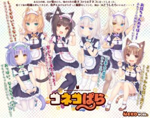Rating: Safe Score: 31 Tags: animal_ears azuki chocola cinnamon_(nekopara) coconut fishnets heels heterochromia maid maple_(nekopara) neko_works nekomimi nekopara pantyhose sayori skirt_lift tail thighhighs vanilla User: moonian