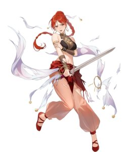 Rating: Questionable Score: 18 Tags: bikini_top breast_hold cleavage fire_emblem fire_emblem:_seima_no_kouseki fire_emblem_heroes nintendo see_through swimsuits sword tethys_(fire_emblem) tokki torn_clothes User: fly24