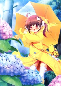 Rating: Safe Score: 25 Tags: kuwada_yuuki thighhighs umbrella User: Bulzeeb