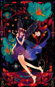 Rating: Safe Score: 12 Tags: dress feet pointy_ears wings xia_(artist) User: charunetra