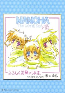 Rating: Questionable Score: 6 Tags: fate_testarossa mahou_shoujo_lyrical_nanoha mahou_shoujo_lyrical_nanoha_a's mahou_shoujo_lyrical_nanoha_the_movie_2nd_a's takamachi_nanoha yagami_hayate User: drop