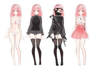 Rating: Questionable Score: 21 Tags: bra character_design gun pantsu tandohark thighhighs User: Darkthought75