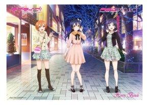 Rating: Safe Score: 27 Tags: dress heels hoshizora_rin love_live! sonoda_umi sweater tagme thighhighs toujou_nozomi User: Spidey