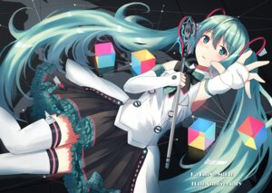 Rating: Safe Score: 4 Tags: hatsune_miku n2_(yf33) thighhighs vocaloid User: Mr_GT