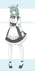Rating: Safe Score: 10 Tags: animal_ears final_fantasy final_fantasy_xiv maid miqo'te tagme User: kail28391