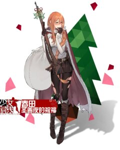Rating: Safe Score: 25 Tags: christmas duoyuanjun girls_frontline gun pantyhose springfield_(girls_frontline) sweater torn_clothes User: WtfCakes
