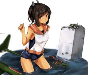 Rating: Questionable Score: 43 Tags: i-401_(kancolle) kantai_collection maki_pei school_swimsuit seifuku swimsuits tan_lines wet User: Mr_GT