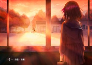 Rating: Safe Score: 31 Tags: fate/stay_night fate/stay_night_heaven's_feel seifuku tagme User: kiyoe