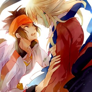 Rating: Safe Score: 2 Tags: endou_mamoru gouenji_shuuya inazuma_eleven komkomx male User: charunetra