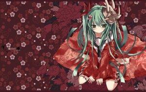 Rating: Safe Score: 32 Tags: kimono shino_(eefy) wallpaper User: charunetra