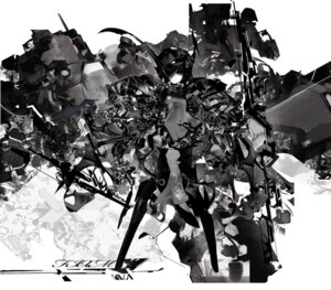 Rating: Safe Score: 11 Tags: mecha_musume monochrome nedlog User: blooregardo