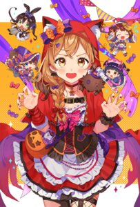 Rating: Safe Score: 24 Tags: animal_ears bandaid bang_dream! bunny_ears chibi cosplay fishnets halloween hanazono_tae ichigaya_arisa nurse stockings tail thighhighs toyama_kasumi ushigome_rimi vonokim wings witch yamabuki_saaya User: Mr_GT