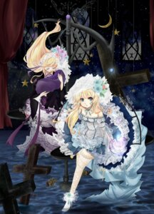 Rating: Safe Score: 20 Tags: dress hortense lolita_fashion noro sound_horizon thighhighs violette User: Radioactive