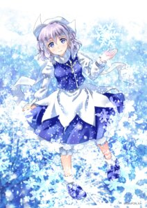 Rating: Safe Score: 20 Tags: letty_whiterock sato-pon touhou User: Mr_GT