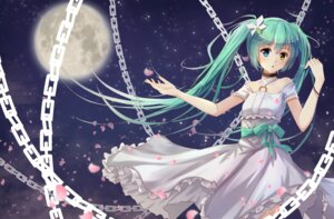Rating: Safe Score: 36 Tags: byakuya_reki dress hatsune_miku heterochromia vocaloid User: tbchyu001