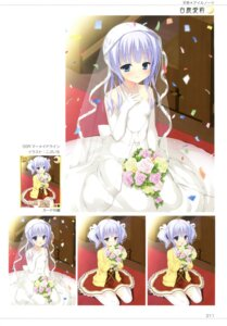 Rating: Safe Score: 40 Tags: amairo_islenauts dress kobuichi seifuku shiraga_airi stockings thighhighs wedding_dress yuzu-soft User: Twinsenzw