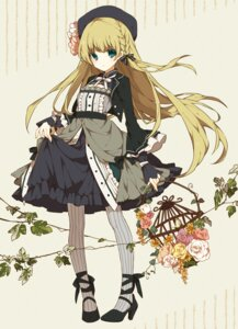 Rating: Safe Score: 51 Tags: dress lolita_fashion nobuyo_ninomiya pantyhose User: KazukiNanako