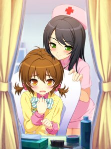 Rating: Safe Score: 44 Tags: axanael crossdress fujimi_suzu game_cg nitroplus nurse ousu_chiaki trap tsuji_santa User: pmt7ar