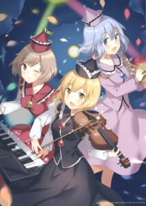 Rating: Safe Score: 20 Tags: lunasa_prismriver lyrica_prismriver merlin_prismriver rie touhou User: Radioactive