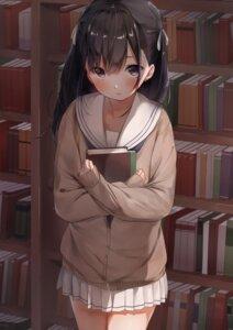 Rating: Safe Score: 12 Tags: mochi_nabe seifuku sweater User: Mr_GT