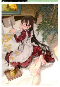 Rating: Safe Score: 40 Tags: abeno_chaco dress girl's_avenue megane User: Jigsy