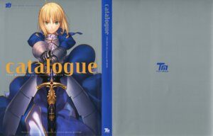 Rating: Safe Score: 15 Tags: armor fate/stay_night saber sword takeuchi_takashi type-moon User: fireattack