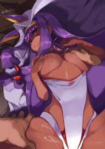 Rating: Explicit Score: 26 Tags: animal_ears breast_grab breast_hold breasts bunny_ears cum fate/grand_order leotard nitocris_(fate/grand_order) no_bra tagme yuuzii User: Mr_GT