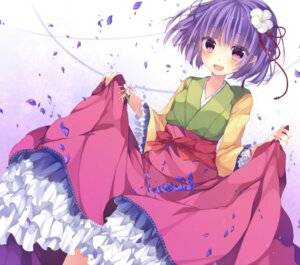 Rating: Safe Score: 35 Tags: hieda_no_akyuu japanese_clothes kisaragi_kiriha touhou User: Nekotsúh