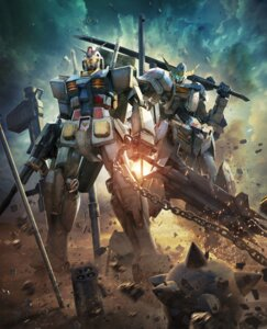 Rating: Safe Score: 41 Tags: crossover gundam mecha tagme User: NotRadioactiveHonest