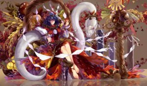 Rating: Safe Score: 41 Tags: mishaguji neko_(yanshoujie) touhou yasaka_kanako User: Mr_GT