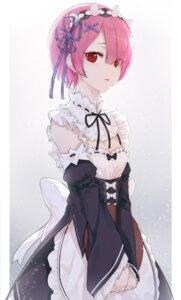 Rating: Safe Score: 12 Tags: cleavage maid ram_(re_zero) re_zero_kara_hajimeru_isekai_seikatsu snozaki User: Dreista
